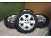 "Genuine Land Rover Discovery 19"" Alloy wheels 5x120 Range Rover P38 VW T5 Alloys"