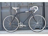 Brand new single speed fixed gear fixie bike/ road bike/ bicycles + 1year warranty & free service xz