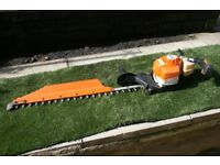 Stihl HS86 Petrol Hedge Trimmer 32' Single sided blade, in good condition