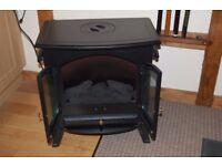 Wood burner effect electric fire.