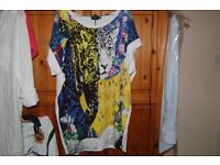 NEW JUST CAVALLI LADIES LARGE TOP. COLLECTION FROM WHITBY