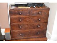 Large Mahogany Chest of drawers for sale