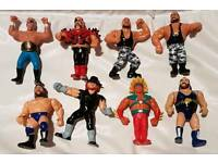 Wwf. Wwe figures from 1980