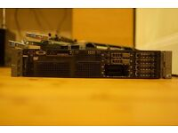 Dell R710 Server SFF 2x L5640 hexcore, 32 GB RAM with extras