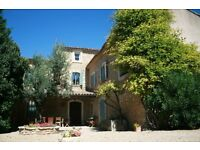 2 week holiday job in Provence to help us with shopping and cooking. £350 pw