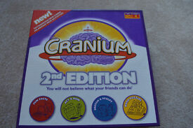 Cranium board game 2nd edition - like new