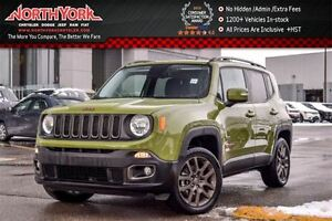 2016 Jeep Renegade 75th Anniversary 4x4|Cold Wthr Pkg|Tow Hitch|