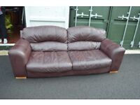 Leather Barker & Stonehouse Sofa