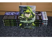 Manga Set - Seraph of the End: Vampire Reign Volumes 1-9