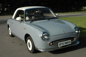 Nissan Figaro Automatic 1991 Finished Lapis Grey Convertible £6990 ono