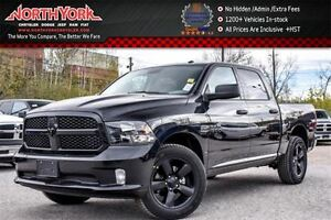 2017 Ram 1500 New Car Express Black Appearance 4x4|Backup Cam|To