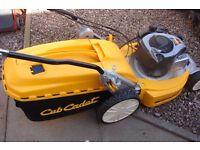 mtd cub cadet self propelled professional rotary lawnmower