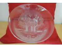 Large Bowl with Tree Design