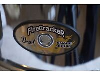Pearl Firecracker 10x5.5 Stainless Snare Drum