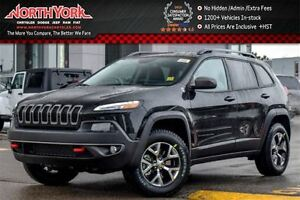2017 Jeep Cherokee NEW Car Trailhawk 4x4 Cold Wthr/SafetyTec/Com
