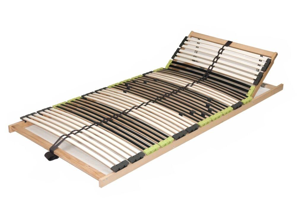 7 Zonen Buche Lattenrost zerlegt  DaMi Relax Lattenrahmen mit 42 Leisten LGA