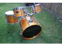 Premier Signia drum shell pack - Topaz - '90s - Leicester - Vintage