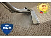 50% OFF PROFESSIONAL STEAM CARPET AND UPHOLSTERY CLEANING/STAIN REMOVAL - Bromley -