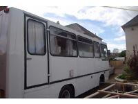 Leyland converted bus motorhome