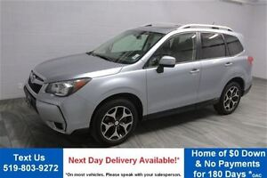 2014 Subaru Forester XT TOURING! AWD! LEATHER! PANO ROOF! REAR C
