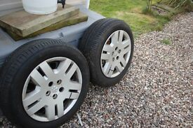 two wheels and tires fit dodge avenger