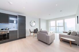** Amazing Modern 1 bed Apartment with gym and balcony in Stratford, E20, Call now!! - AW