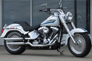 2007 harley-davidson FLSTF Fat Boy  Super Spectacular  Lots of T