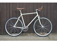 Hackney Club single speed fixed gear fixie road bike/ bicycles + 1year warranty & free service ww8