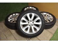 "Genuine Range Rover 20"" Alloy wheels 5x120 Sport Land Rover VW T5 Alloys Silver"