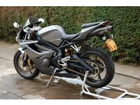 Triumph Daytona 675,2007, 19k, Full Triumph Service History, Currently owned by a Porsche Technician
