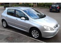 One Owner Peugeot 307s 5 Dr, Ideal Family Car, New MOT (No Advisories) Full S/History, Superb Value
