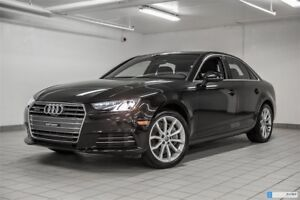 2017 Audi A4 2.0T PROGRESSIV COMFORT SEATING PACK CAMERA