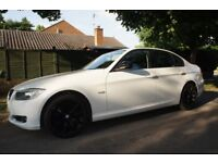 2009 BMW 3 Series 320D SE Business Edition, White, Full Service History, Leather, Sat Nav, idrive.