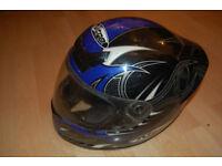 Nitro N200VX Road Motorbike helmet / lid size small 56cm
