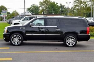2012 Cadillac Escalade ESV PLATINUM EDITION -- BLACK ON BLACK