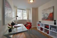 4½ on Ave Des Pins. Great views + Large rooms