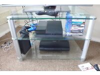 Glass 3 Tier TV Stand FREE