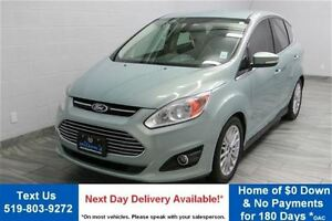 2013 Ford C-Max SEL HYBRID w/ NAVIGATION! LEATHER! PARKING SENSO