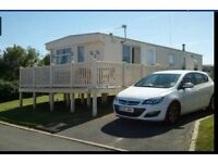 Caravan at crimdon dene for rent