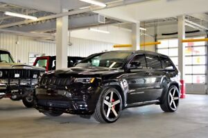 2017 Jeep Grand Cherokee SRT CUIR LAGUNA ROUGE TOIT PANORAMIQUE