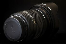 Sigma 17-50mm f2.8 EX DC HSM - Pentax Fit