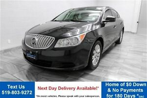 2011 Buick LaCrosse CX  w/ ALLOYS! POWER SEAT! CRUISE CONTROL! K