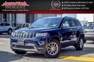 2015 Jeep Grand Cherokee Limited 4x4 Nav Leather R.Start HTD Frn