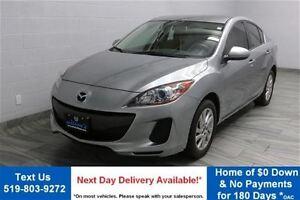 2013 Mazda MAZDA3 GS-SKYACTIV! 6-SPEED SEDAN! HEATED SEATS! ALLO