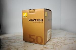 Nikon AF-S 50mm f1.4G excellent condition