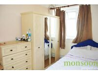 2/3 DOUBLE BEDROOM FLAT, FULLY FURNISHED, CLOSE TO STATION AND BUS, NW6