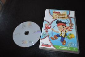DVD- Jake and the neverland pirates