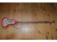youth lacrosse stick - carbon shaft