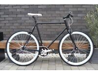 Brand new TEMAN single speed fixed gear fixie bike/ road bike/ bicycles + 1year warranty zzw1