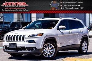 2016 Jeep Cherokee Limited|Nav|Backup Cam|Leather|HTD Frnt Seats